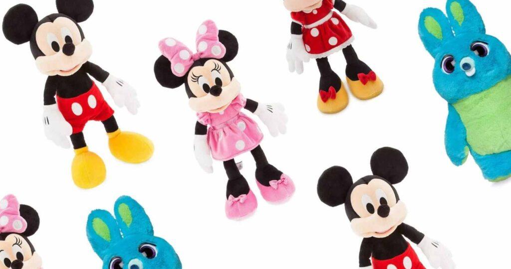 disney store plush toys