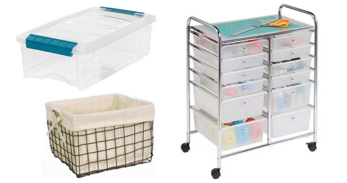 joann storage items sale