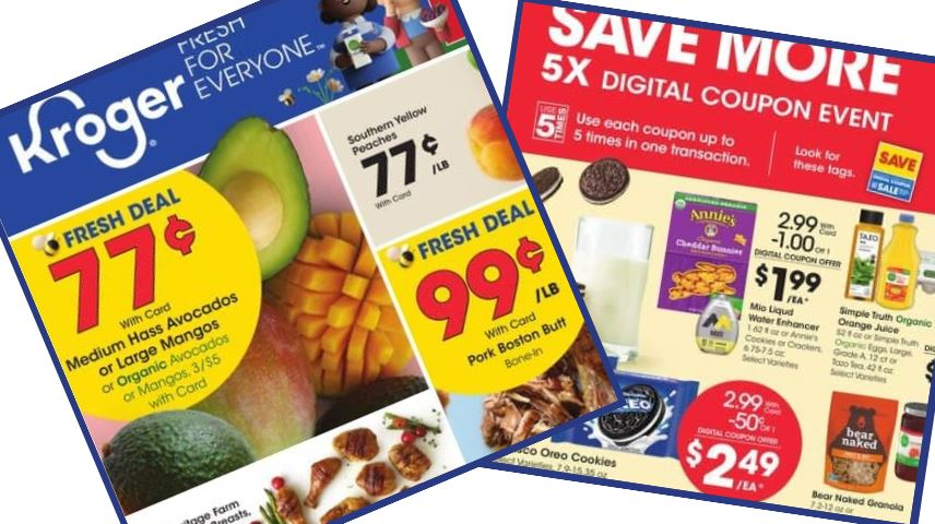 Kroger Weekly Ad 7 22 7 28 Southern Savers