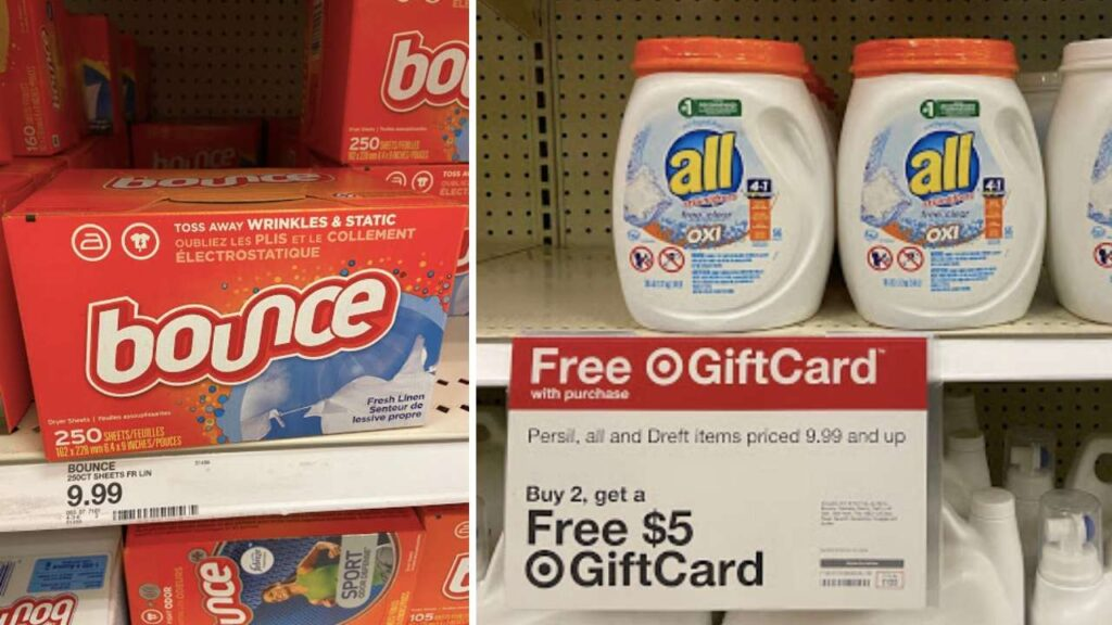 target laundry deal