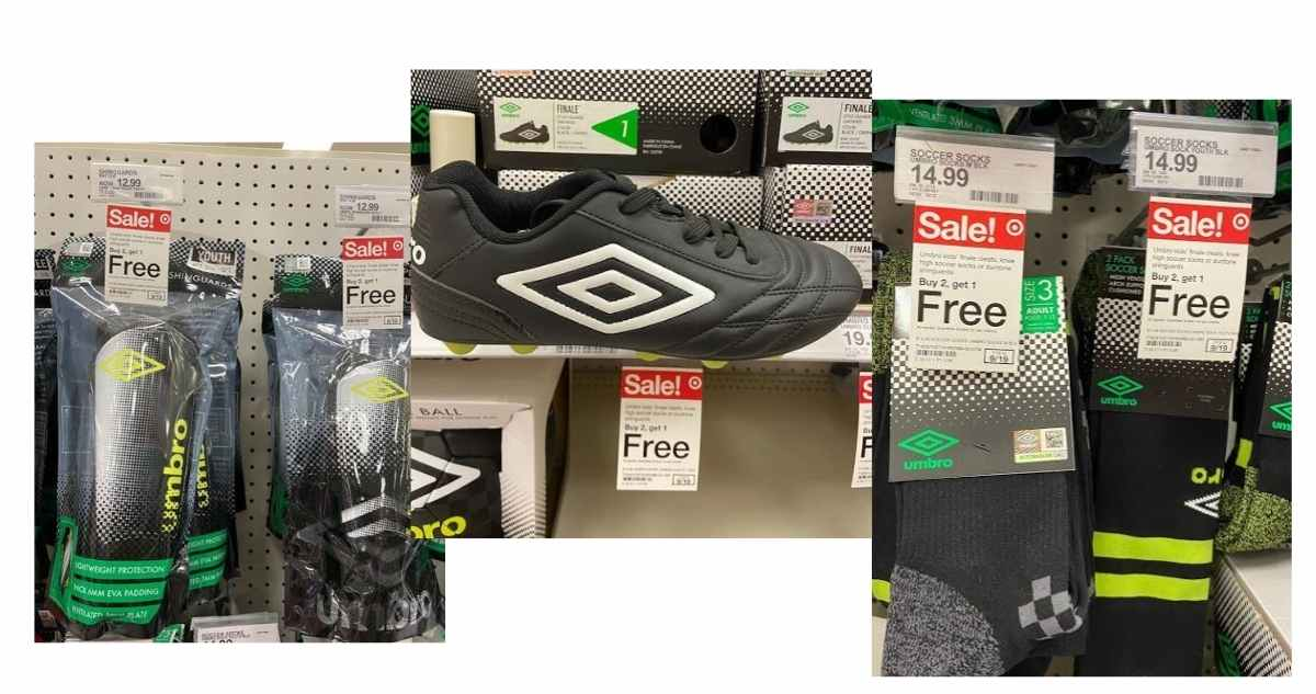 umbro soccer items
