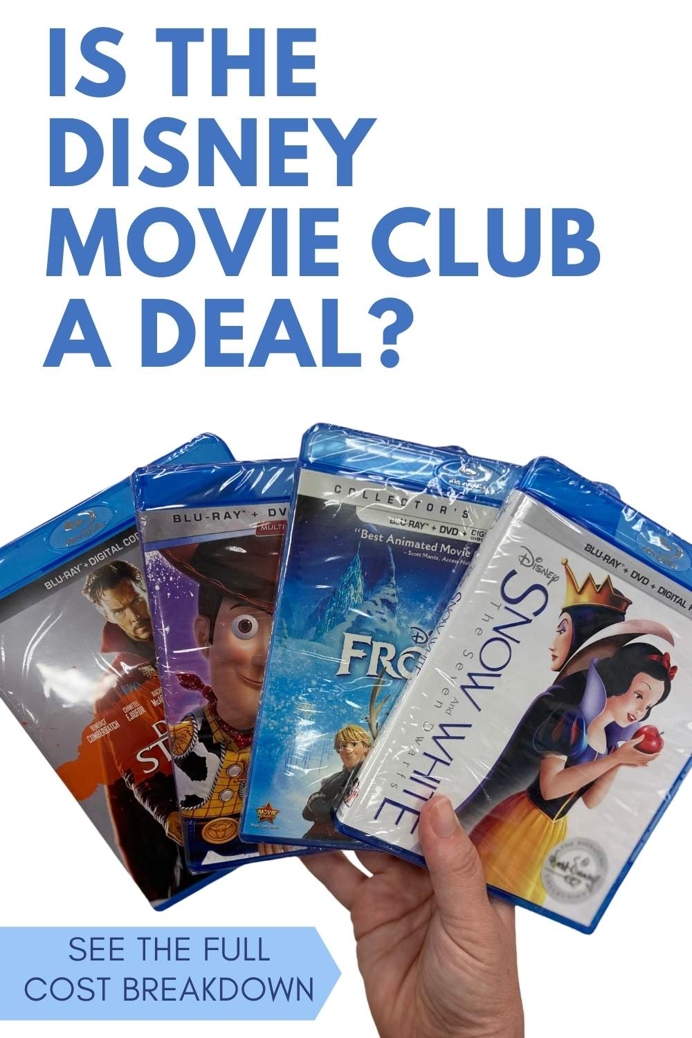 If you love Disney movies you might have pondered joining the Disney Movie Club.  Is it a deal?   Here's the full cost breakdown and all the details!