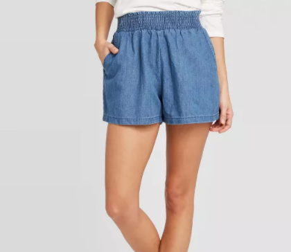 womens pull on shorts