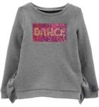 sequin flip dance sweatshirt