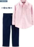 toddler boy 3-piece button up shirt set