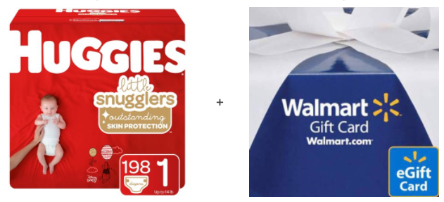 walmart huggies diaper bundle