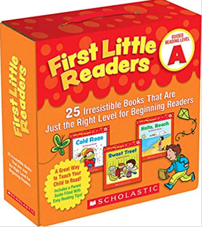 first readers pack