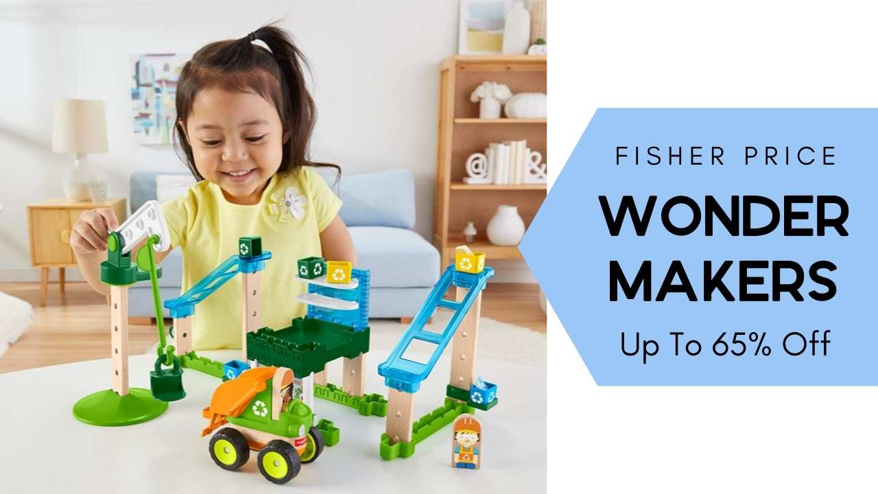 Amazon Fisher Price Wonder Makers Playsets Up To 65 Off Southern Savers