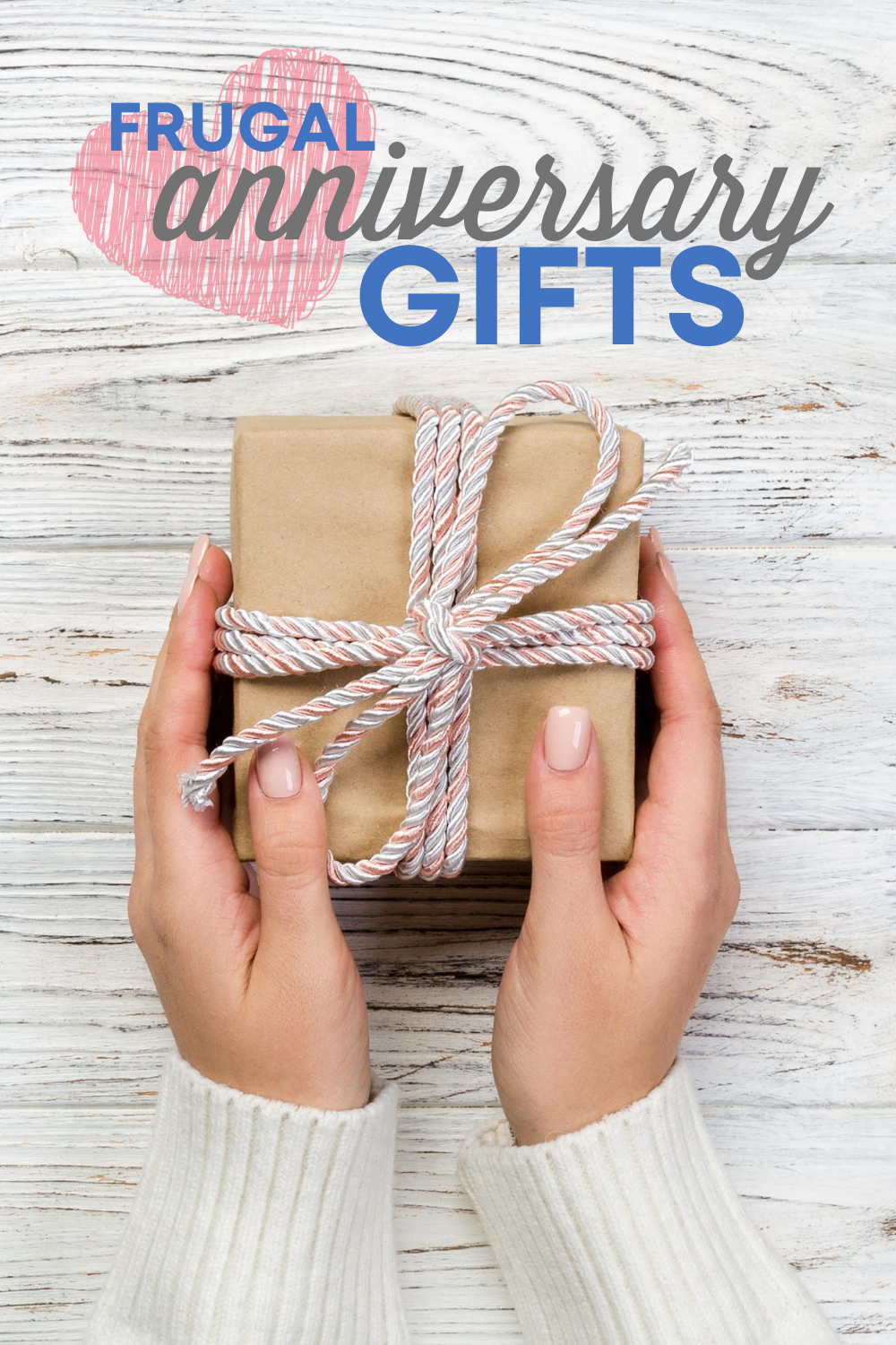You're on a budget, but you want to celebrate one of the most special days you share with your partner. Check out this list of frugal anniversary gifts!