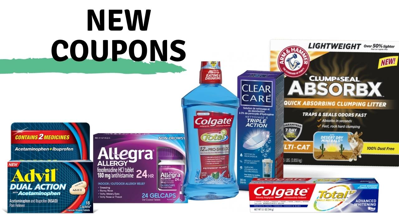 New Coupons Advil Colgate More Southern Savers