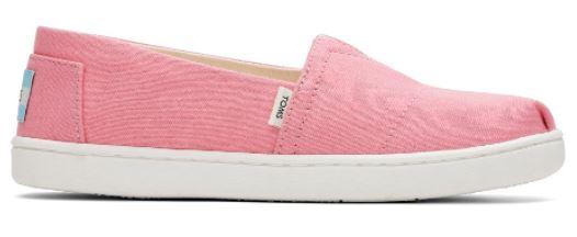 girls pink toms