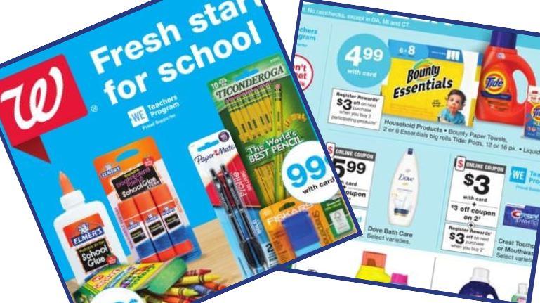 Walgreens Ad Coupons 8 9 8 15 Southern Savers