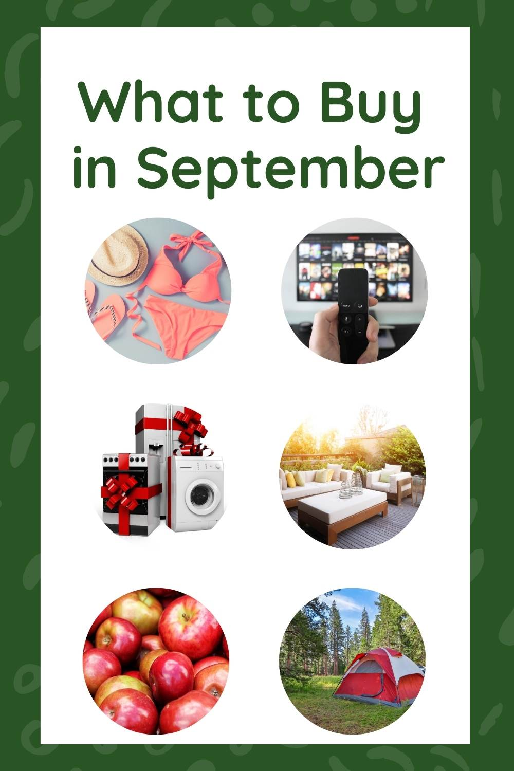 Make the most of your budget by buying what's in season and on sale. Here's a list of what to buy in September to stretch your dollars the farthest!