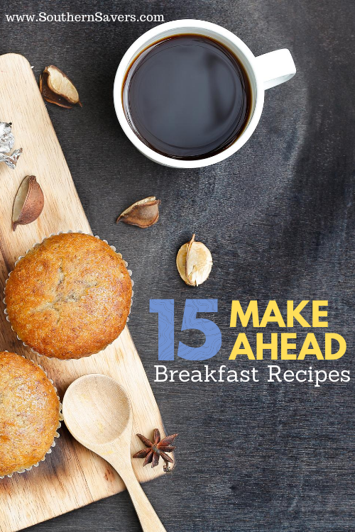 Even if your whole family is at home these days, these make ahead breakfast recipes are worth the prep work and will make your mornings smoother!