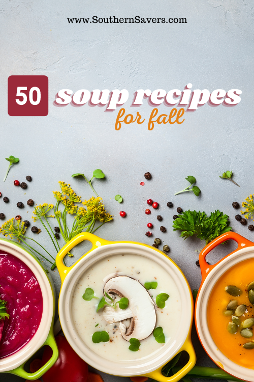With cooler weather, there are few people who don't enjoy a warm bowl of soup. You're sure to find something to try in one of these 50 soup recipes!