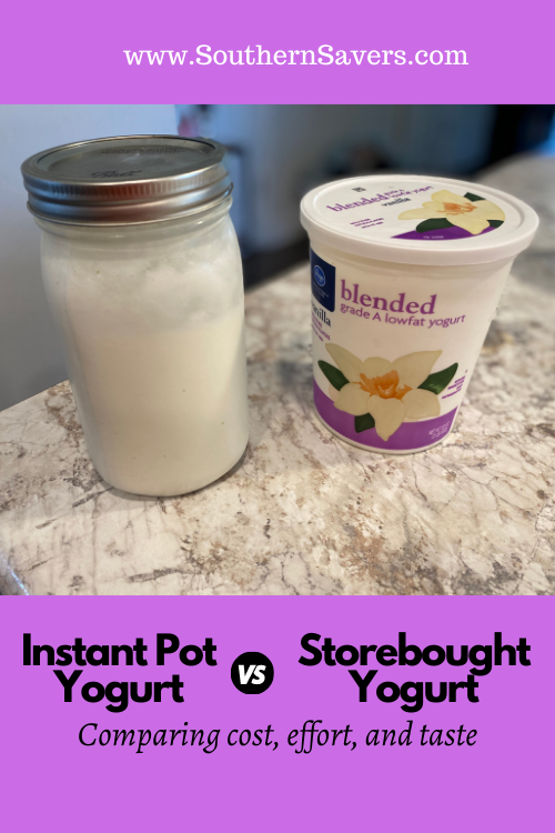 You can make yogurt in your Instant Pot, but is it cheaper than storebought? I compare the cost, effort, and taste of making your own vs buying it.