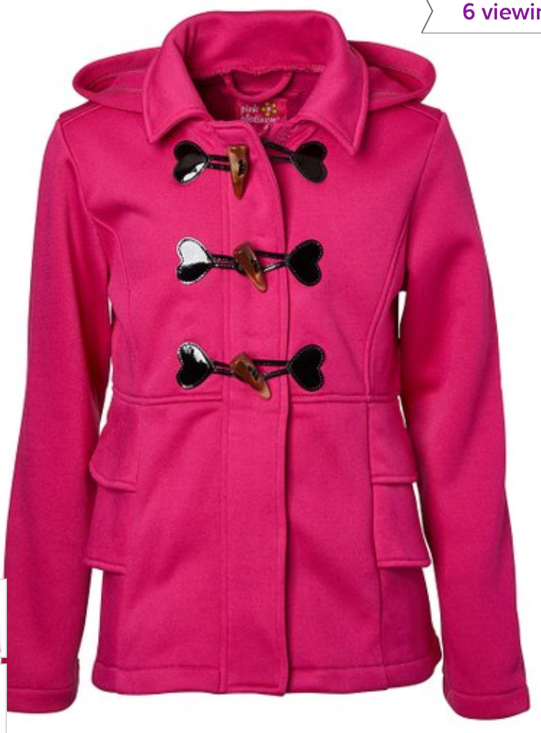 zulily girl coat