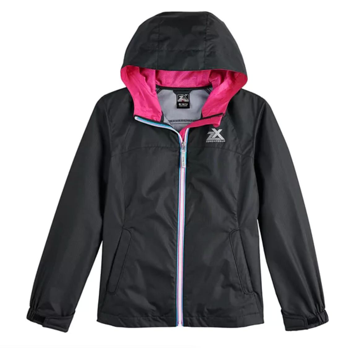 girls rain jacket