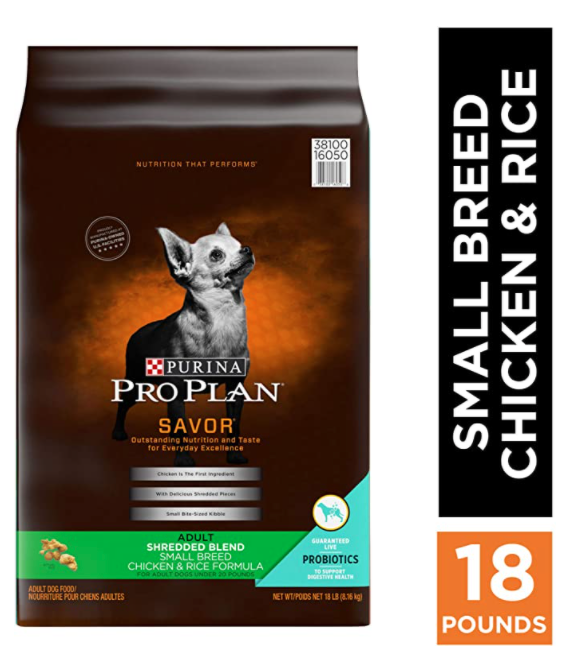 pro plan small breed