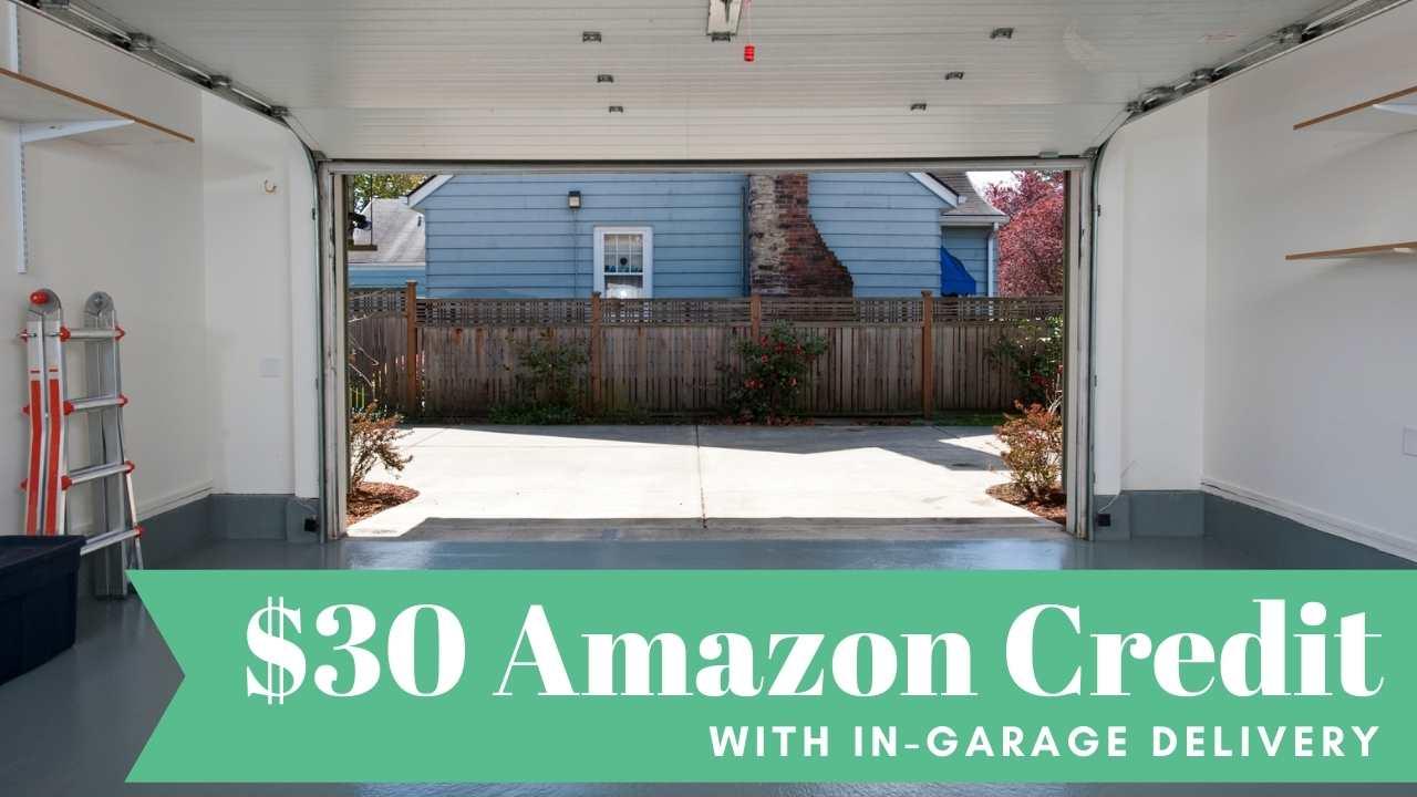 amazon key garage delivery credit