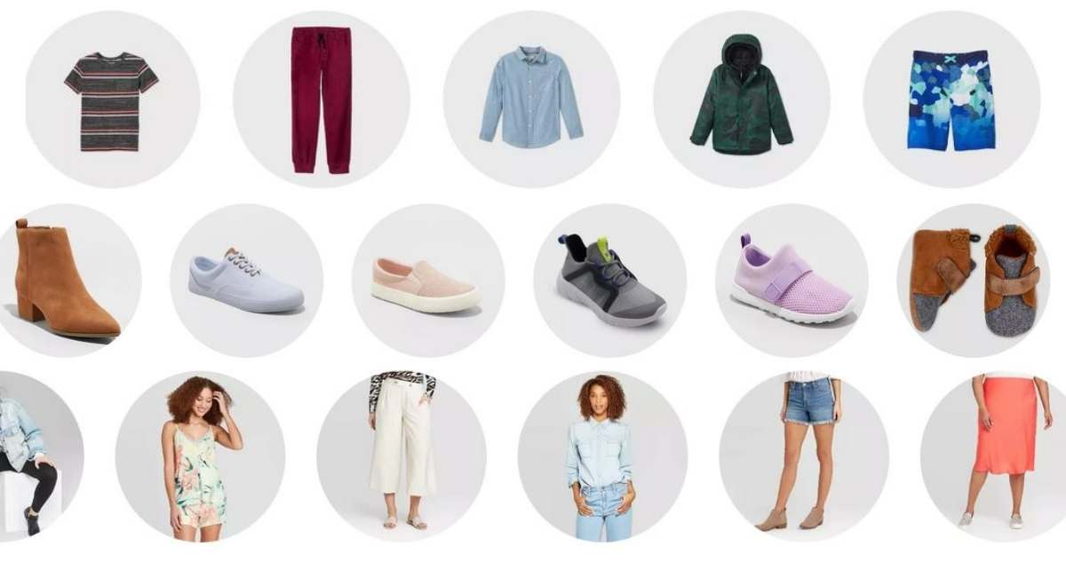apparel target circle offers
