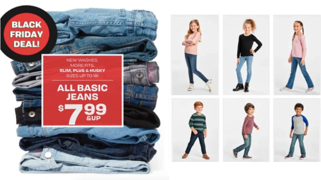 The Children's Place: $7.99 Denim + Free Shipping