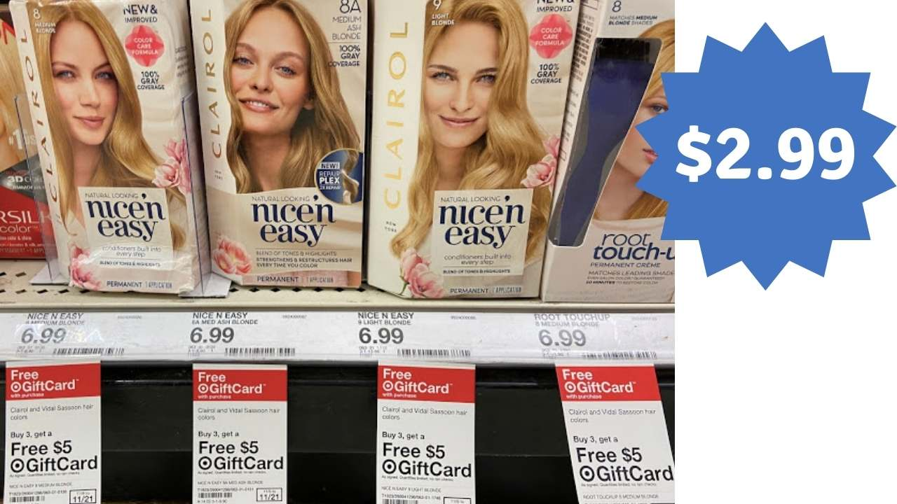 New Clairol Printable Coupons Target Gift Card Deal Southern Savers