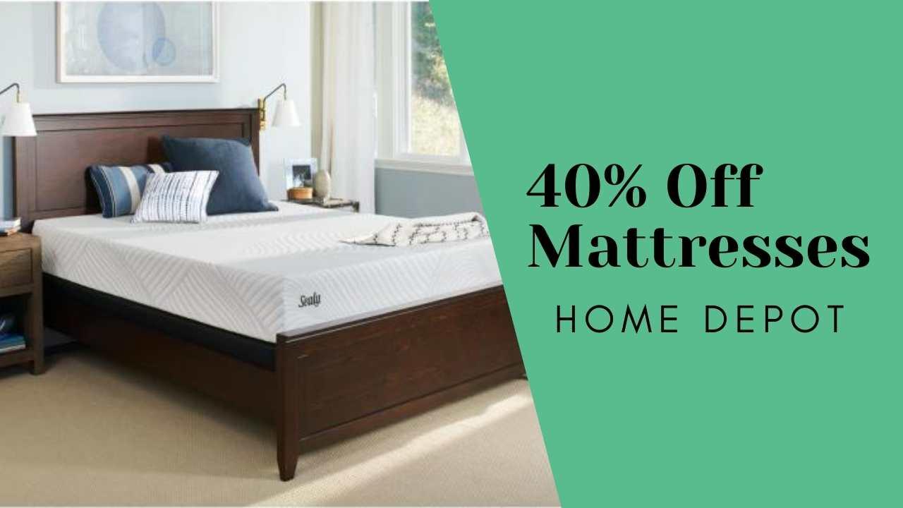 home depot mattress