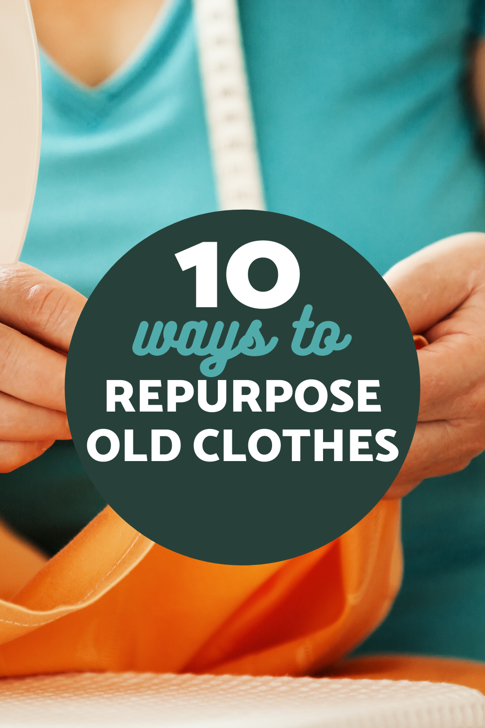Instead of throwing out that old T-shirt, why not make it into something practical? Use one of these 10 idea sto repurpose old clothes.