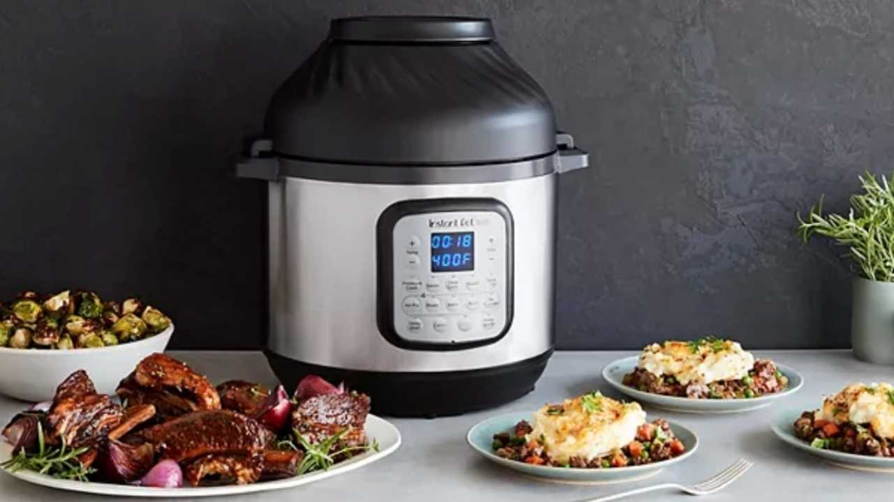 instant pot duo and air fryer