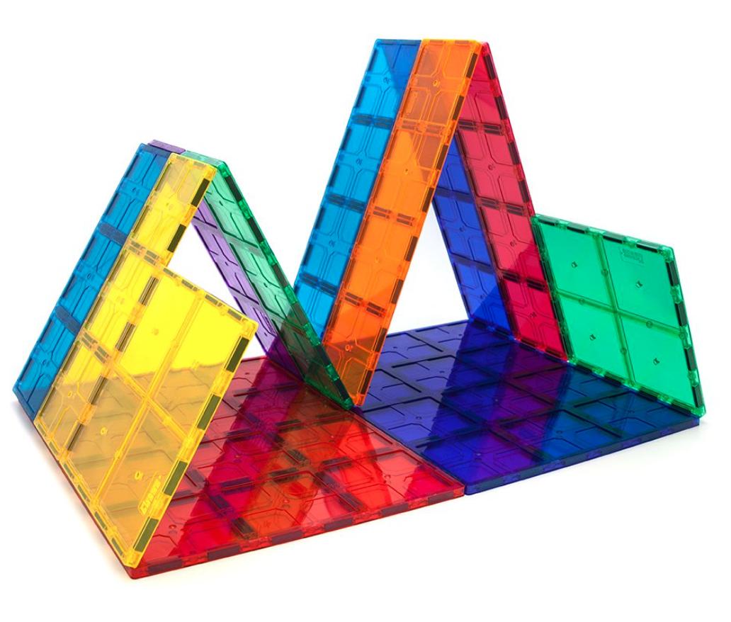 magnetic tile building set