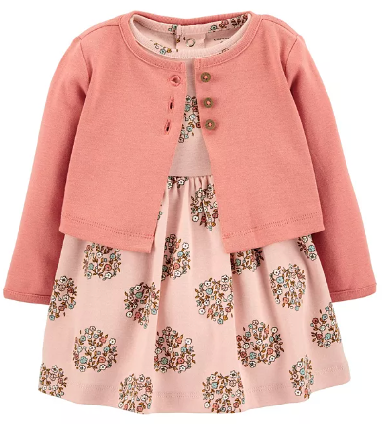carters dress and sweater