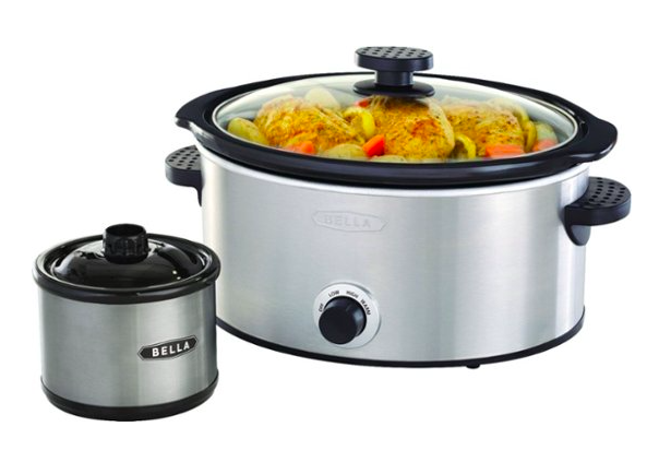 Bella – 5-qt. Slow Cooker with Dipper for just $17.99 (reg. $39)