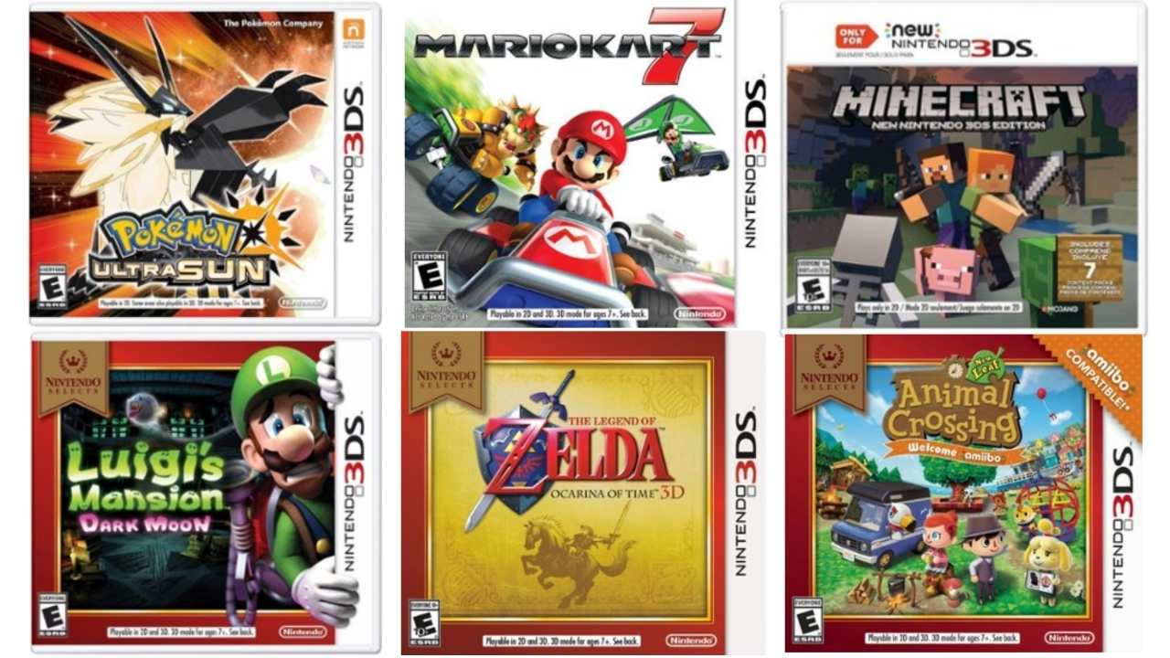 best buy nintendo 3ds games