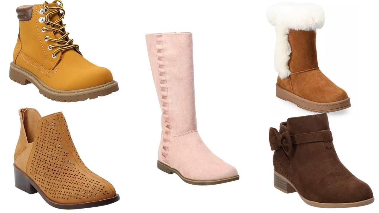 Kids' SO Boots $15.74 (Reg. $44.99