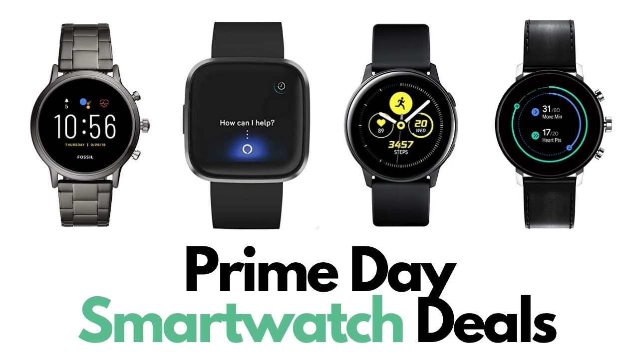 prime day smartwatch deals