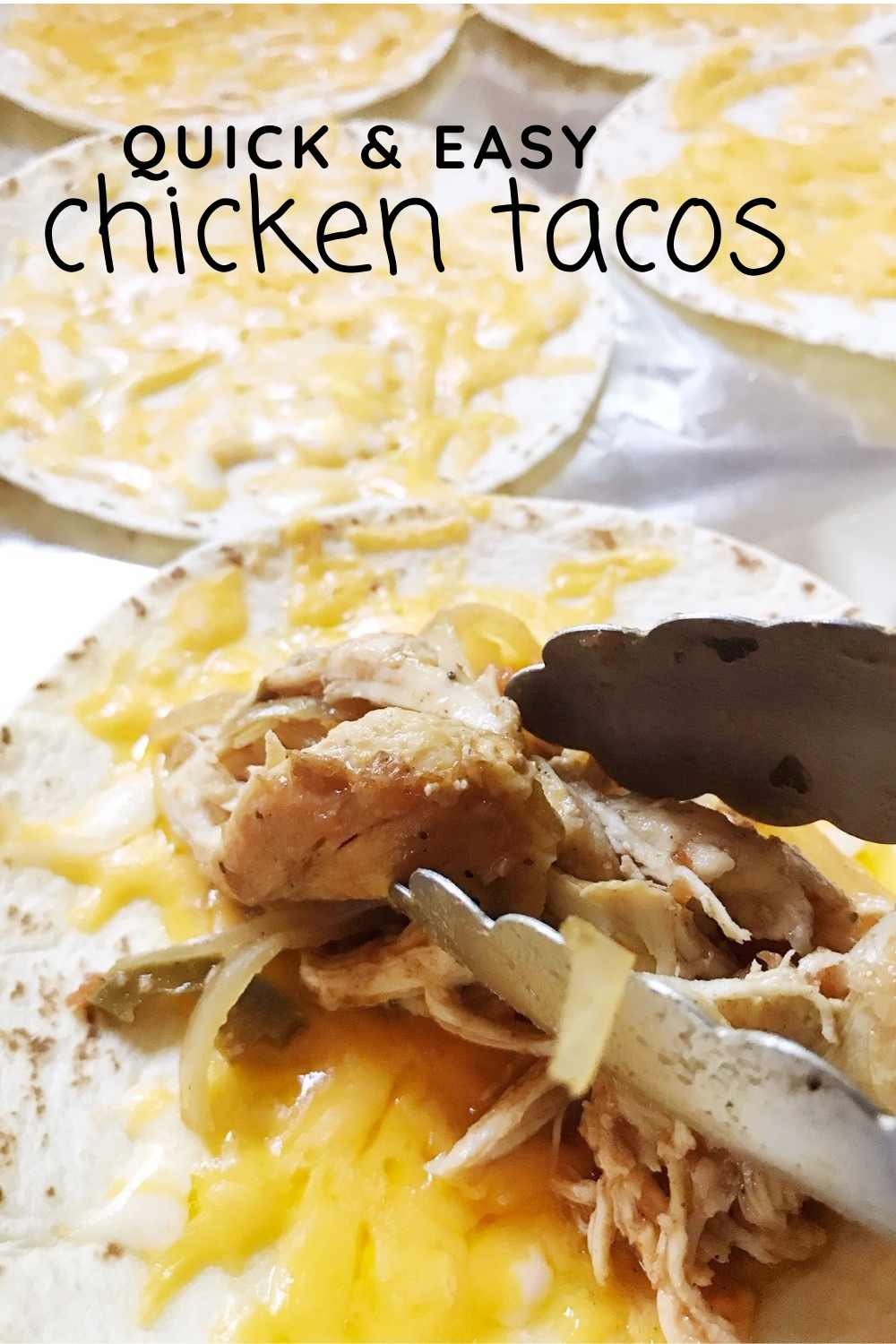 quick and easy chicken tacos