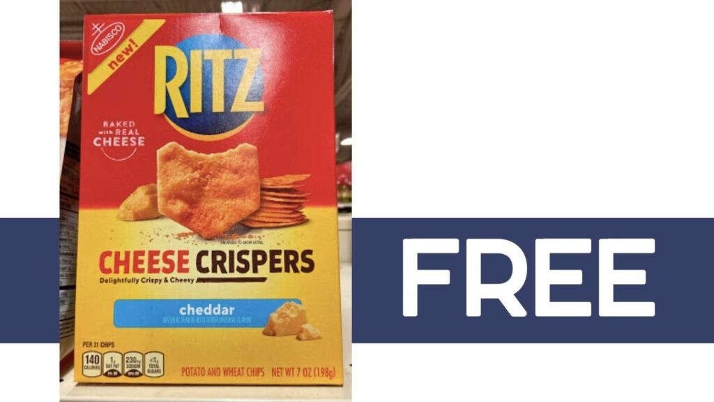 10 Boxes of Ritz Cheese Crispers for FREE | Kroger Mega Deal