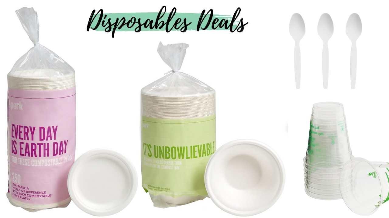staples disposables deals