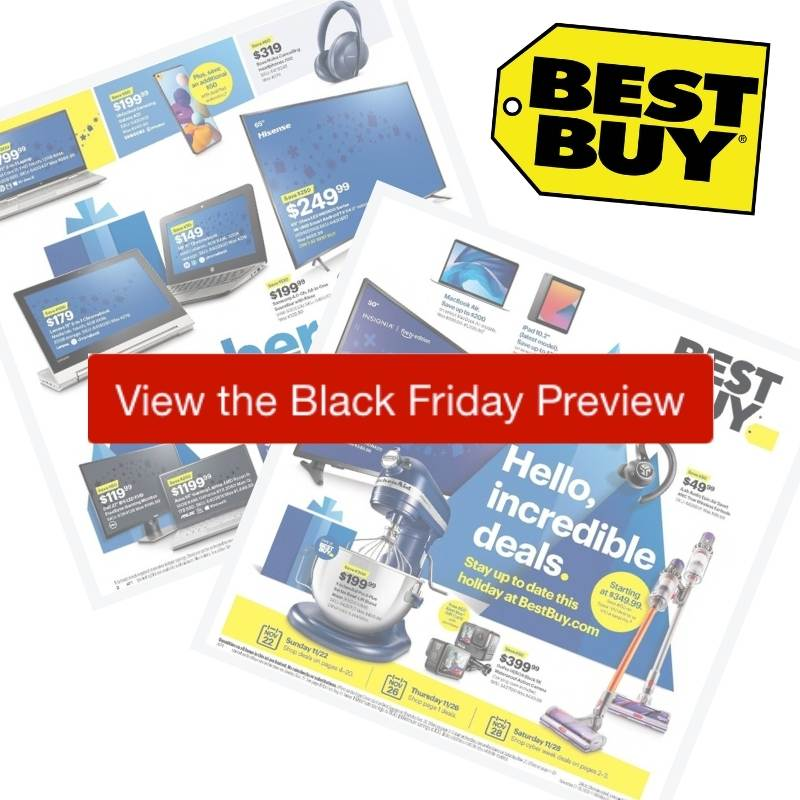 2020 Best Buy Black Friday Ad Preview Southern Savers