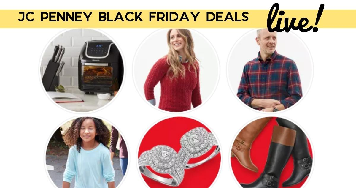 Jcpenney Black Friday Deals Are Live Top Deals Southern Savers
