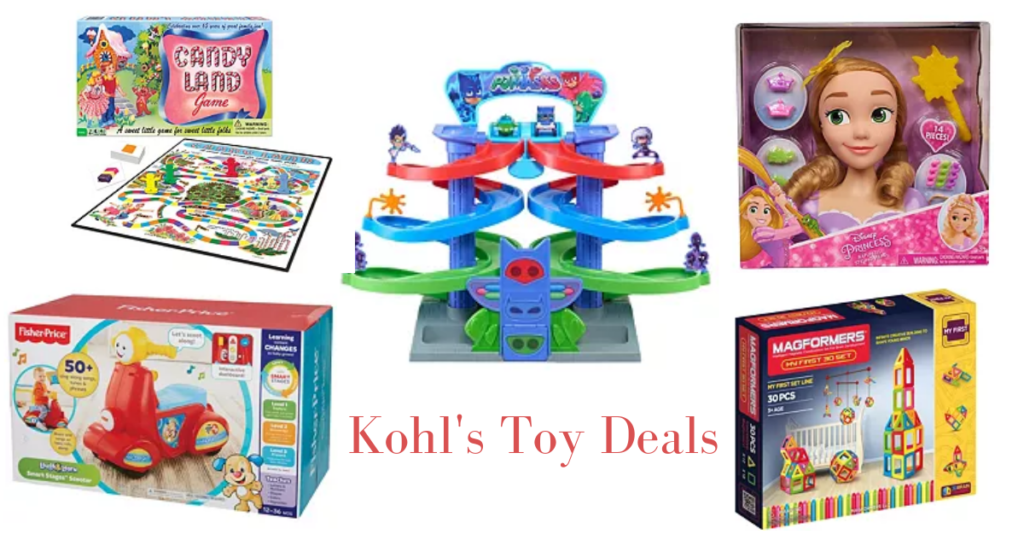 Kohl's Deals | 50% Off Barbie, Nerf, Playdoh + More