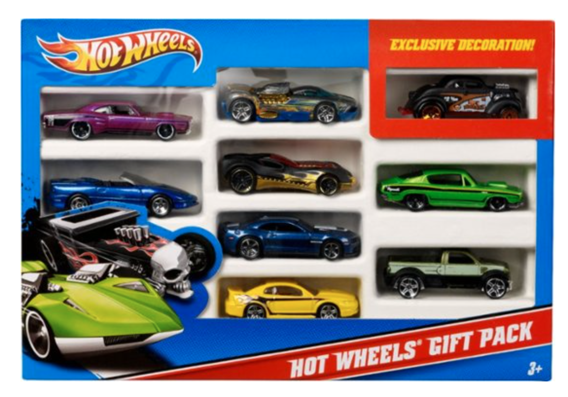 hot wheels car pack