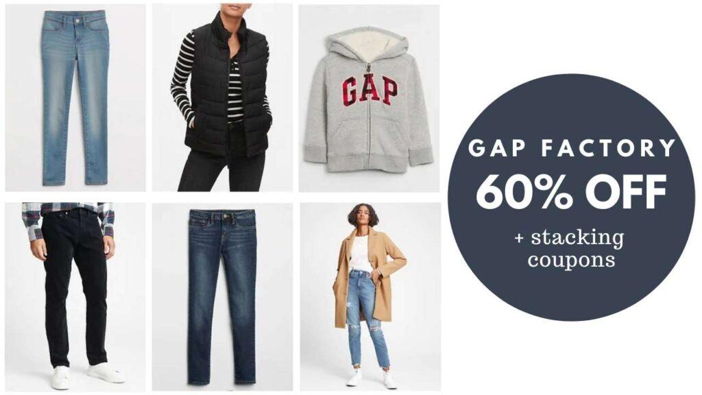 gap factory clothes