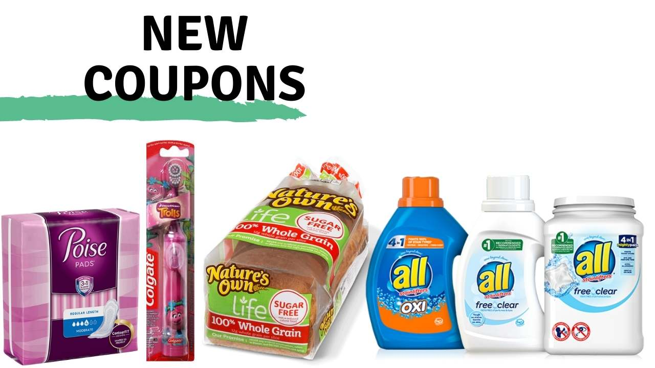 New Coupons: Colgate, Nature's Own, All & More