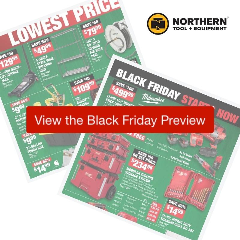 2020 Northern Tool Black Friday Ad Preview Southern Savers
