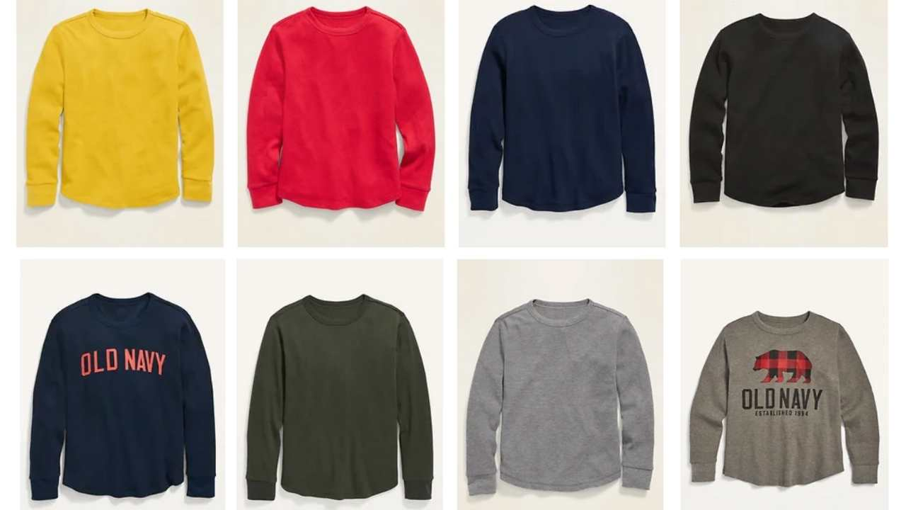 old navy thermals