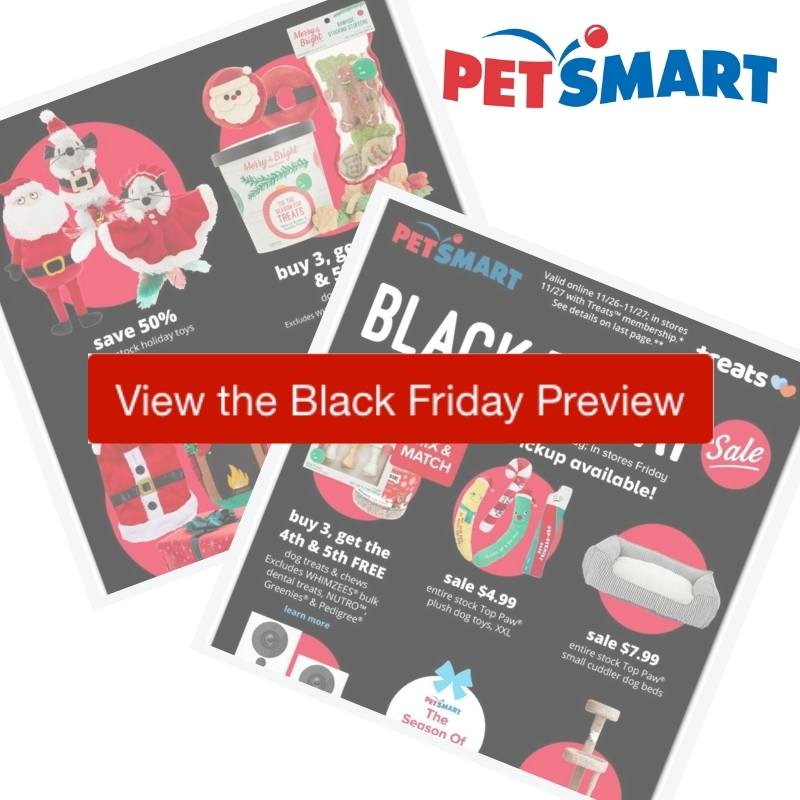 2020 Petsmart Black Friday Ad Preview Southern Savers