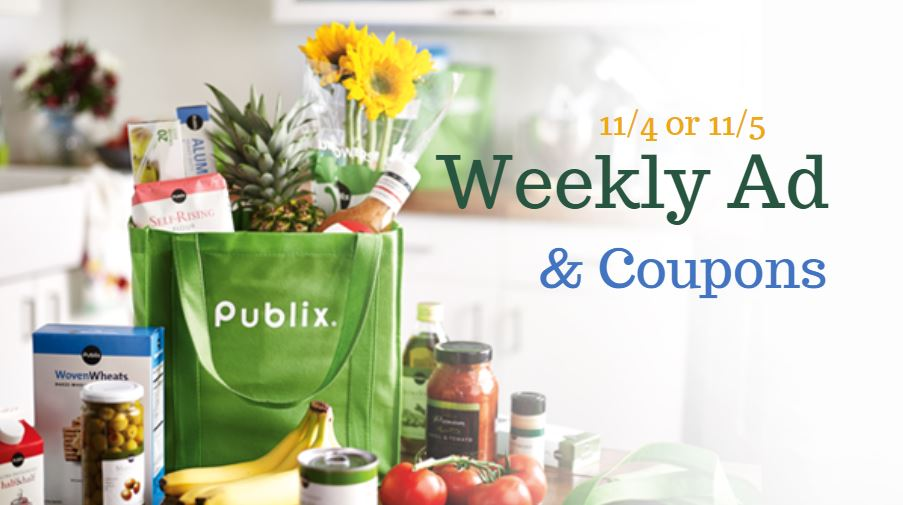 Publix Weekly Ad 11 4 11 10 Or 11 5 11 11 Southern Savers