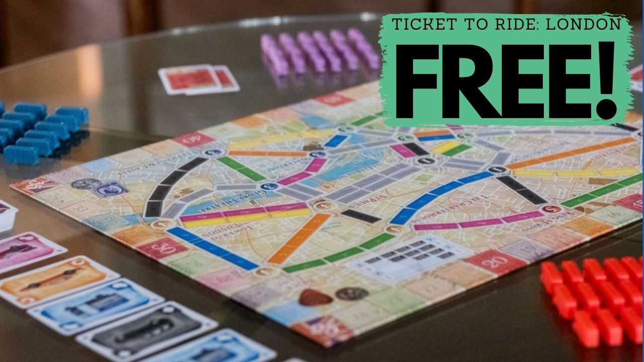 Ticket to Ride & Ticket to Ride London for $24.74